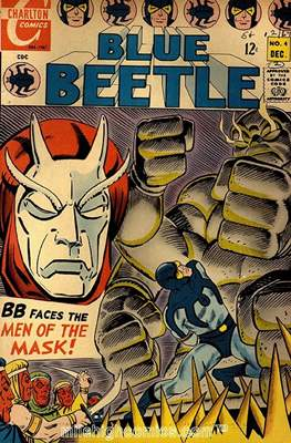 Blue Beetle Vol. 1 #4