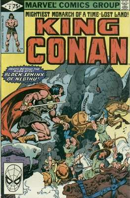 King Conan/Conan the King (1980-1989) (Grapa, 48 págs.) #2