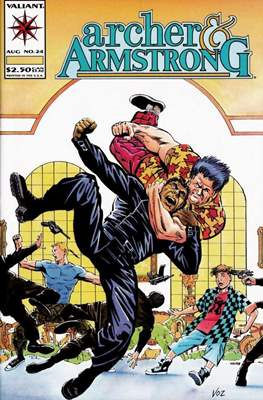 Archer & Armstrong (Comic-book) #24