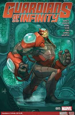 Guardians of Infinity (Comic-book) #5