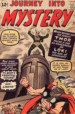 Journey into Mystery / Thor Vol 1 (Comic Book) #85