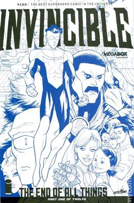 Invincible (Variant Covers) (Comic-book) #133.1