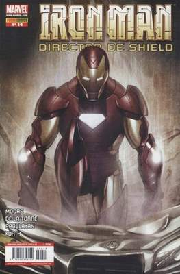 Iron Man: Director of SHIELD / Iron Man & Máquina de Guerra / El Invencible Iron Man (2008-2011) #14