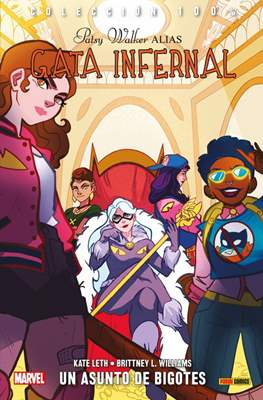 Patsy Walker alias Gata Infernal. 100% Marvel #3