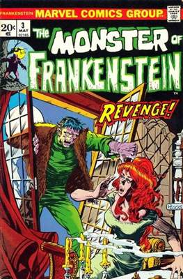 The Frankenstein monster (Grapa) #3