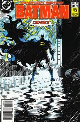 Batman (1987-1993) (Grapa) #36