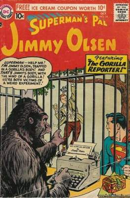 Superman's Pal, Jimmy Olsen / The Superman Family (Comic Book) #24