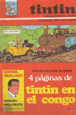Tintin (Grapa 20 pags.) #35