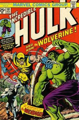 The Incredible Hulk Vol. 1 (1962-1999) (Comic Book) #181