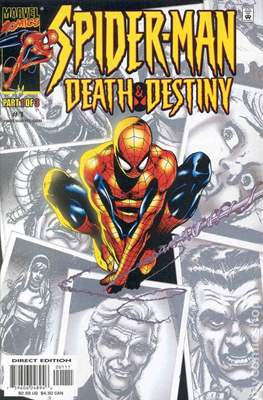 Spider-Man: Death & Destiny (comic grapa usa) #1