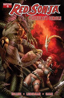 Red Sonja: Vulture's Circle (Comic Book) #5