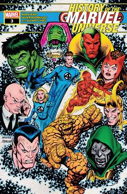History of the Marvel Universe (Comic Book 44 pp) #3
