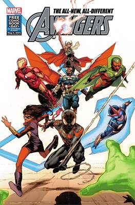 The All-New, All-Different Avengers. Free Comic Book Day 2015