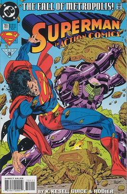 Action Comics Vol. 1 (1938-2011; 2016-) (Comic Book) #701