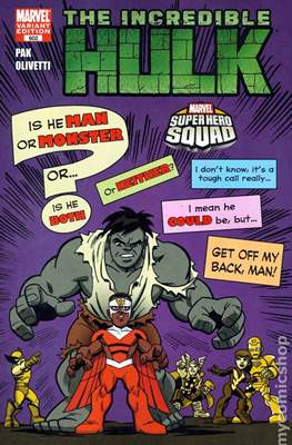 The Incredible Hulk / The Incredible Hulks (2009-2011 Variant Cover) #602