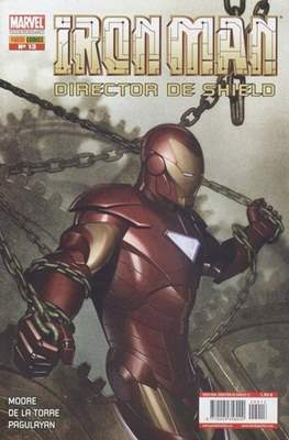 Iron Man: Director of SHIELD / Iron Man & Máquina de Guerra / El Invencible Iron Man (2008-2011) #13