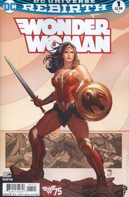 Wonder Woman Vol. 5 (2016- Variant Cover)
