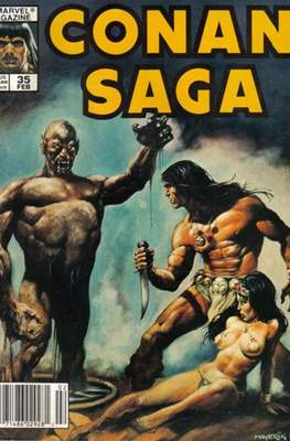 Conan Saga (Comic-book) #35