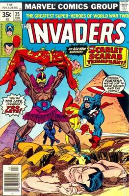 The Invaders (Comic Book. 1975 - 1979) #25