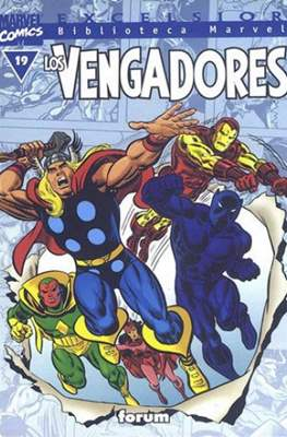 Biblioteca Marvel: Los Vengadores (1999-2001) (Rústica 160 pp) #19