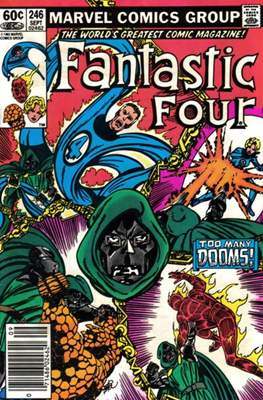 Fantastic Four Vol. 1 (1961-1996) (saddle-stitched) #246