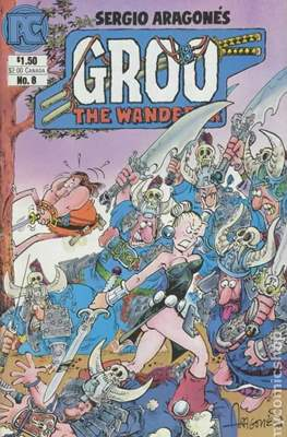 Groo The Wanderer Vol 1 (1982-1984) (Grapa) #8