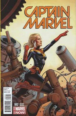 Captain Marvel Vol. 8 (Variant Covers) (Comic Book) #2