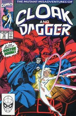 Cloak and Dagger Vol. 3 (1988-1991) (Comic-book.) #12