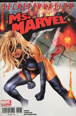 Ms.Marvel Secret Invasion (Grapa) #3