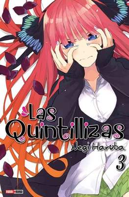 Las Quintillizas (Go-Toubun no Hanayome) (Rústica con sobrecubierta) #3