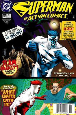 Action Comics Vol. 1 (1938-2011; 2016-) (Comic Book) #743