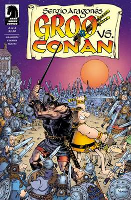 Groo vs. Conan (2014) (Grapa) #4