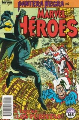 Marvel Héroes (1986-1993) (Grapa 32 pp) #44
