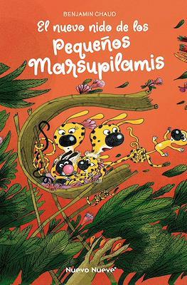 El nuevo nido de los pequeños Marsupilamis