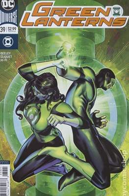 Green Lanterns (Vol. 1 2016-... Variant Covers) (Comic Book) #39