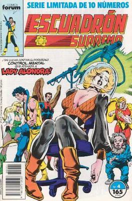Escuadrón Supremo (1990) (Grapa. 17x26. 32 páginas. Color) #4