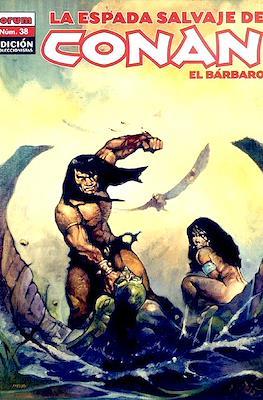 La Espada Salvaje de Conan el Bárbaro. Edición coleccionistas (Rústica. 64 páginas. B/N. (2005-2008).) #38
