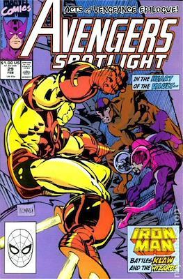 Solo Avengers / Avengers Spotlight (Comic book) #29