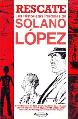 Rescate. Las Historietas Perdidas de Solano López