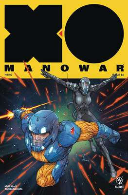 X-O Manowar Vol. 4 (2017) (Comic-book) #24
