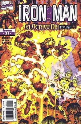 Iron Man Vol. 4 (1998-2000) (Grapa 24 pp) #21