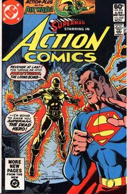 Action Comics Vol. 1 (1938-2011; 2016-) (Comic Book) #525