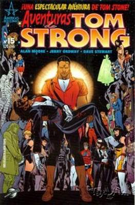 Aventuras de Tom Strong (2003-2004) (Grapa 24-32 pp) #15