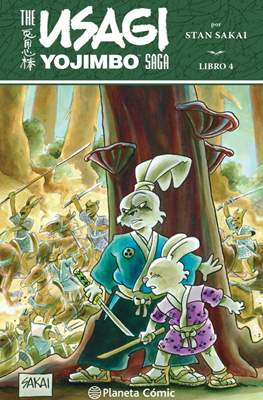 Usagi Yojimbo Saga (Rústica 632 pp) #4