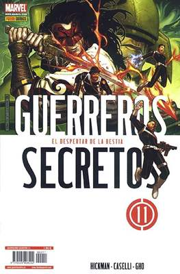 Guerreros secretos (2009-2012) (Grapa) #11