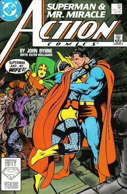 Action Comics Vol. 1 (1938-2011; 2016-) (Comic Book) #593