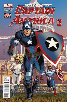 Captain America: Steve Rogers (Comic-book) #1