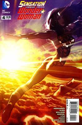 Sensation Comics Featuring Wonder Woman (2014-2016) (Comic-Book) #4