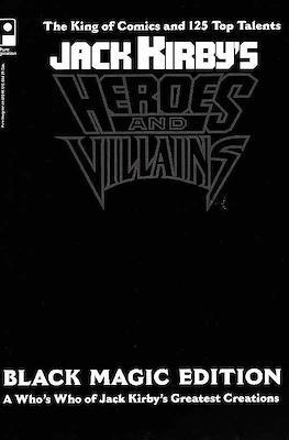 Jack Kirby's Heroes and Villians Black Magic Edition