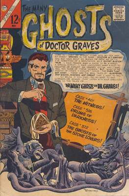 The Many Ghosts of Doctor Graves (Comic Book) #1